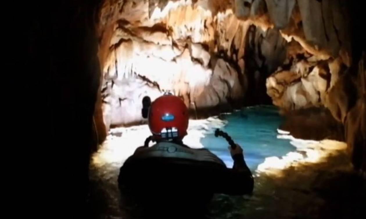 Σπήλαιο Κεφαλόβρυσου: Ένας μαγευτικός θησαυρός της φύσης (vid)