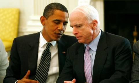 Μπαράκ Ομπάμα: Ο Τζον Μακέιν θεωρούσε την ιδιότητα του πολίτη «πατριωτικό καθήκον»