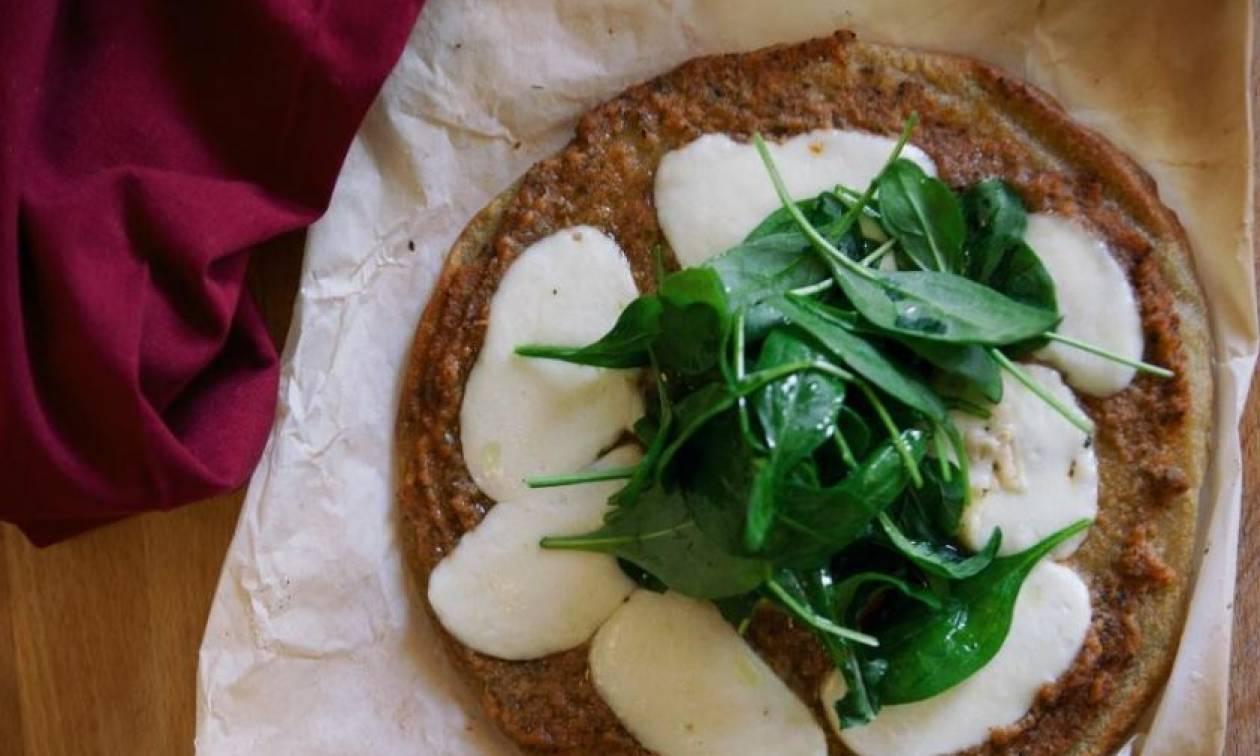 Η συνταγή της ημέρας: Πίτσα με ζύμη από κινόα