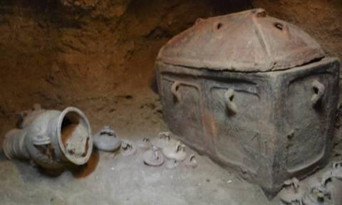 На Крите обнаружено захоронение возрастом более 3 тыс лет