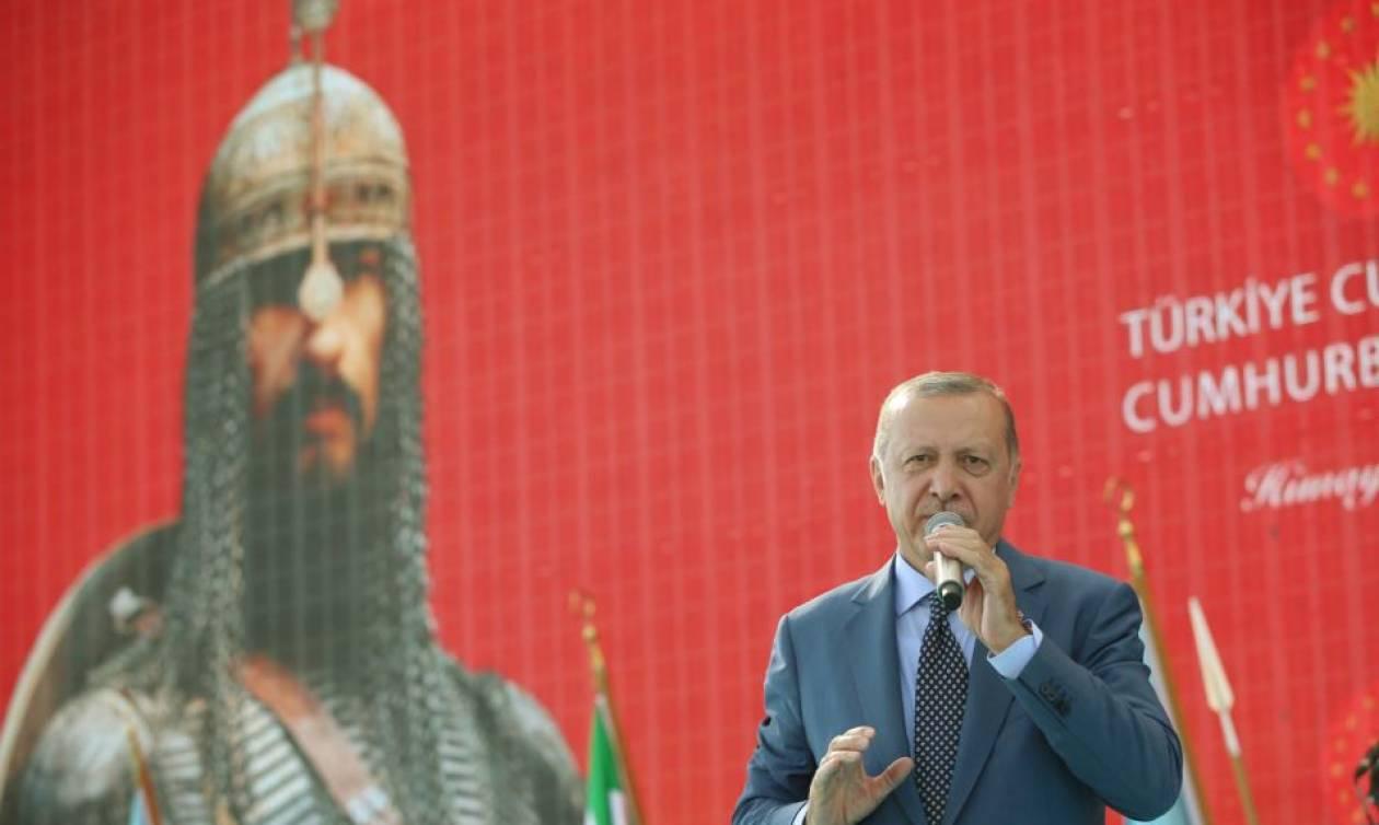Οθωμανικός «αχταρμάς»: Ο Ερντογάν μιλά για Βυζάντιο, Ιράκ, Συρία με παραπομπές στο Game of Thrones