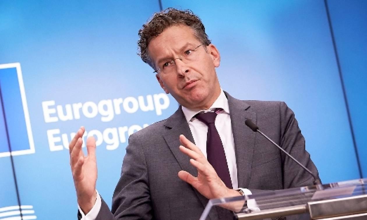 Ντάισελμπλουμ: Θα έπρεπε να εφαρμοστεί διαφορετική πολιτική για την Ελλάδα