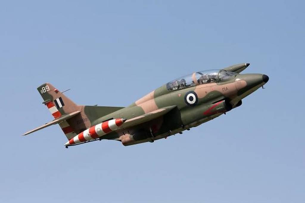 Πτώση αεροσκάφους της Πολεμικής Αεροπορίας μεταξύ Σπάρτης και Τρίπολης