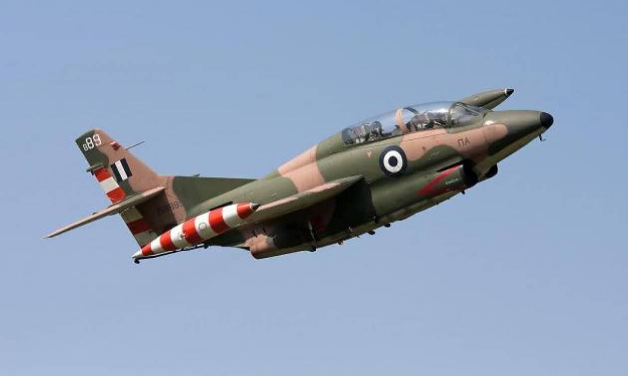 Θρήνος στην Πολεμική Αεροπορία: Πτώση εκπαιδευτικού αεροσκάφους  - Νεκρός ο κυβερνήτης (pics-vids)