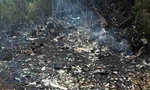 Πτώση αεροσκάφους - Συγκλονιστική μαρτυρία: «Ο πιλότος κρατούσε ακόμα το πηδάλιο»