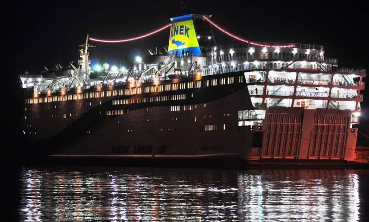 Φωτιά στο «Ελευθέριος Βενιζέλος»: «Ελεγχόμενη» η κατάσταση στο πλοίο
