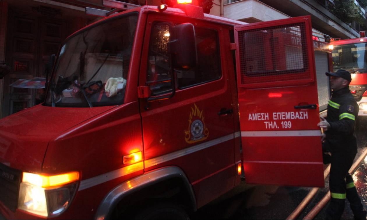 Φωτιά σε διαμέρισμα στο Κολωνάκι