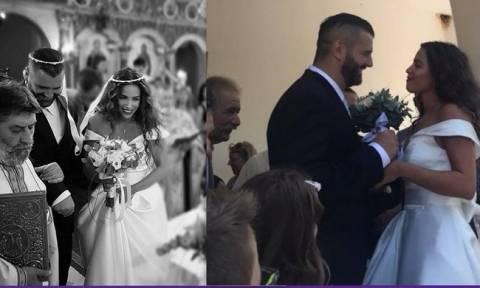Κατερίνα Στικούδη - Βαγγέλης Σερίφης: Ο παραδοσιακός χορός τους στο γαμήλιο γλέντι