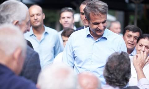 Μητσοτάκης από Γρεβενά: Θα κερδίσουμε τις εκλογές και θα μειώσουμε και εισφορές και φόρους