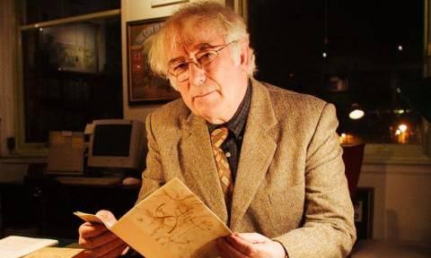 Σαν σήμερα το 2013 φεύγει από τη ζωή ο βραβευμένος με Νόμπελ ποιητής Σέιμους Χίνι