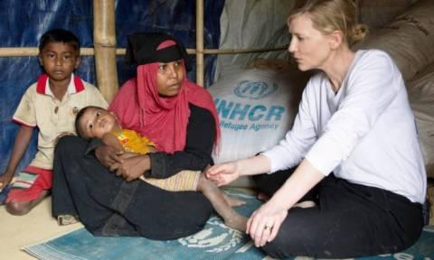 «Αποτύχαμε»! Η Κέιτ Μπλάνσετ καλεί ΟΗΕ για τη γενοκτονία των Ροχίνγκια