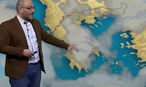 Ο καιρός το Σαββατοκύριακο και η πιθανή αλλαγή! Η ανάλυση του Σάκη Αρναούτογλου (video)