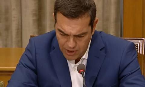 LIVE: Η ομιλία του Αλέξη Τσίπρα στο Υπουργικό Συμβούλιο