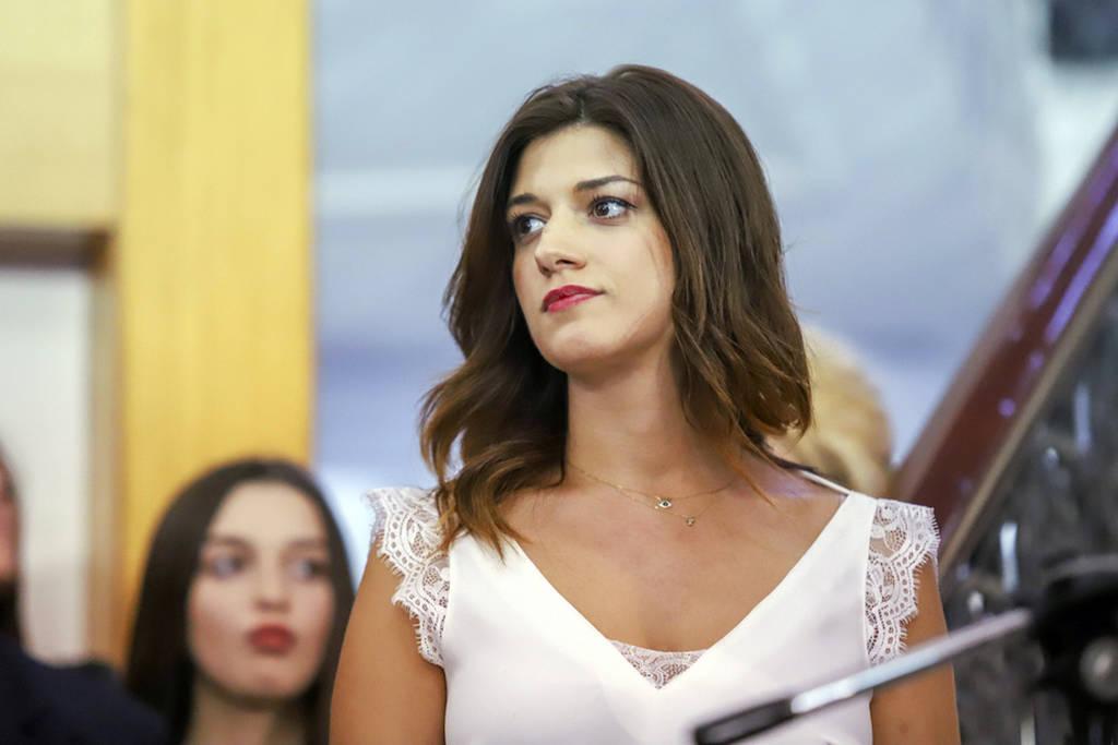 H Κατερίνα Νοτοπούλου παρέλαβε το Υπουργείο Μακεδονίας - Θράκης (pics+vids)