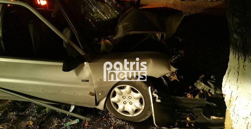 Ηλεία: Σε σοβαρή κατάσταση 21χρονη μετά από τροχαίο στη Ζαχάρω (pics)