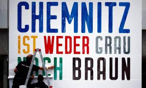 Χάος στο Χέμνιτς: Πώς ο θάνατος ενός Γερμανού οδήγησε μια πόλη «στα άκρα» (pics)