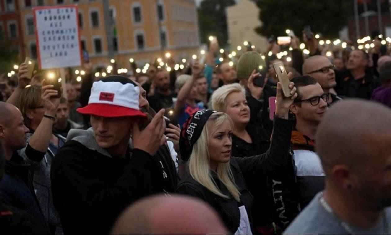 Γερμανία: «Καζάνι» που βράζει το Κέμνιτς - Νέες διαδηλώσεις από ακροδεξιούς και αντιφασίστες
