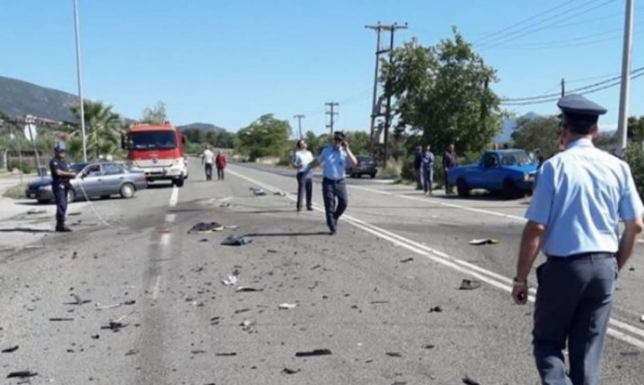 Με αίμα βάφτηκε η άσφαλτος στη Στυλίδα: Μηχανή συγκρούστηκε με Ι.Χ. - Νεκρός νεαρός οδηγός