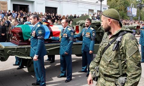В Донецке прошли похороны Александра Захарченко