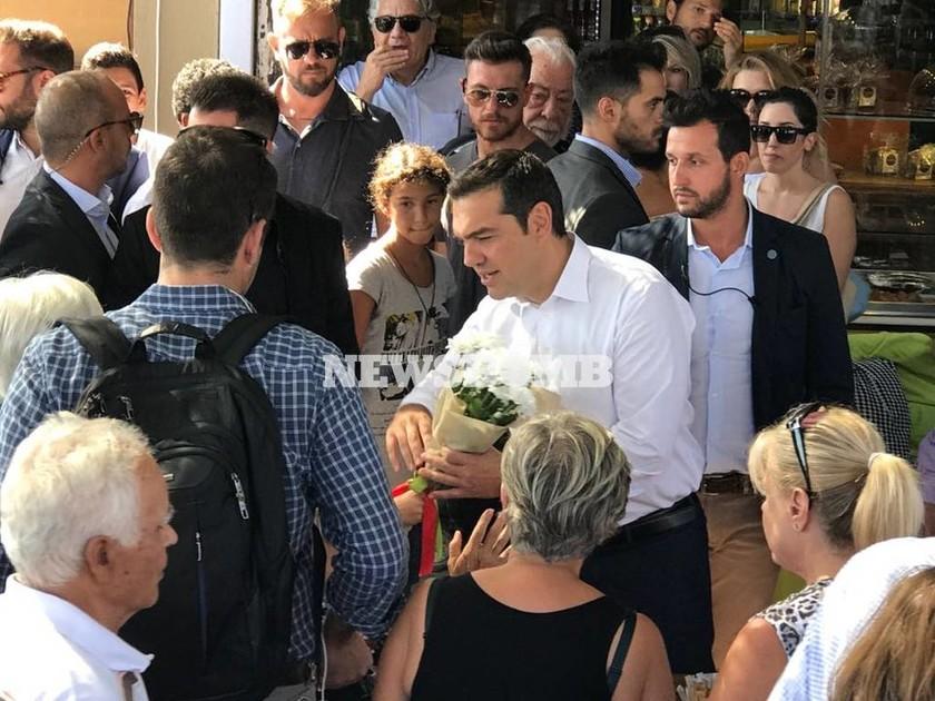 LIVE: Η επίσκεψη του Αλέξη Τσίπρα στο μαρτυρικό Μάτι