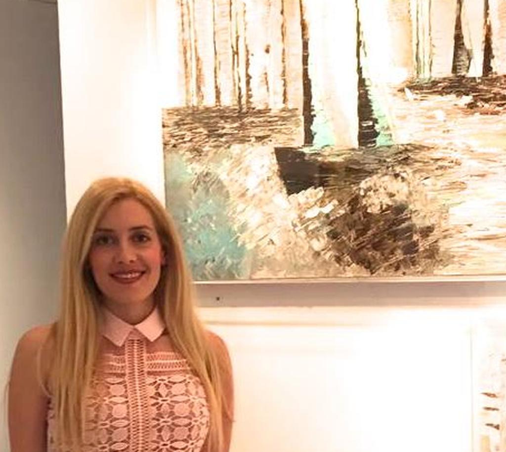 Έκθεση της Ελένης Σαμέλη Βαρουξάκη στο Ίδρυμα Εικαστικών Τεχνών Τσιχριτζή