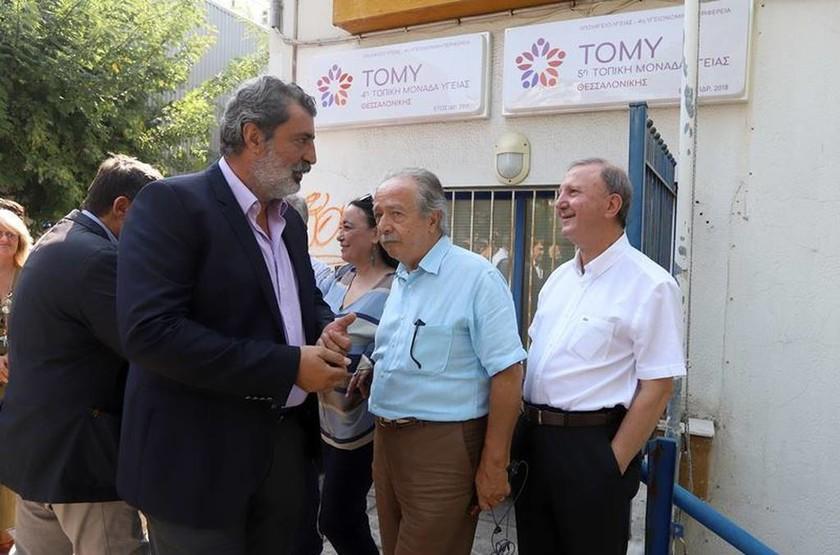 Θεσσαλονίκη: Εγκαίνια στην 4η και 5η ΤΟΜΥ στην περιοχή Χαριλάου (pics)