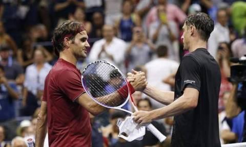 US Open: «Βόμβα»! Ο Μίλμαν απέκλεισε τον Φέντερερ!