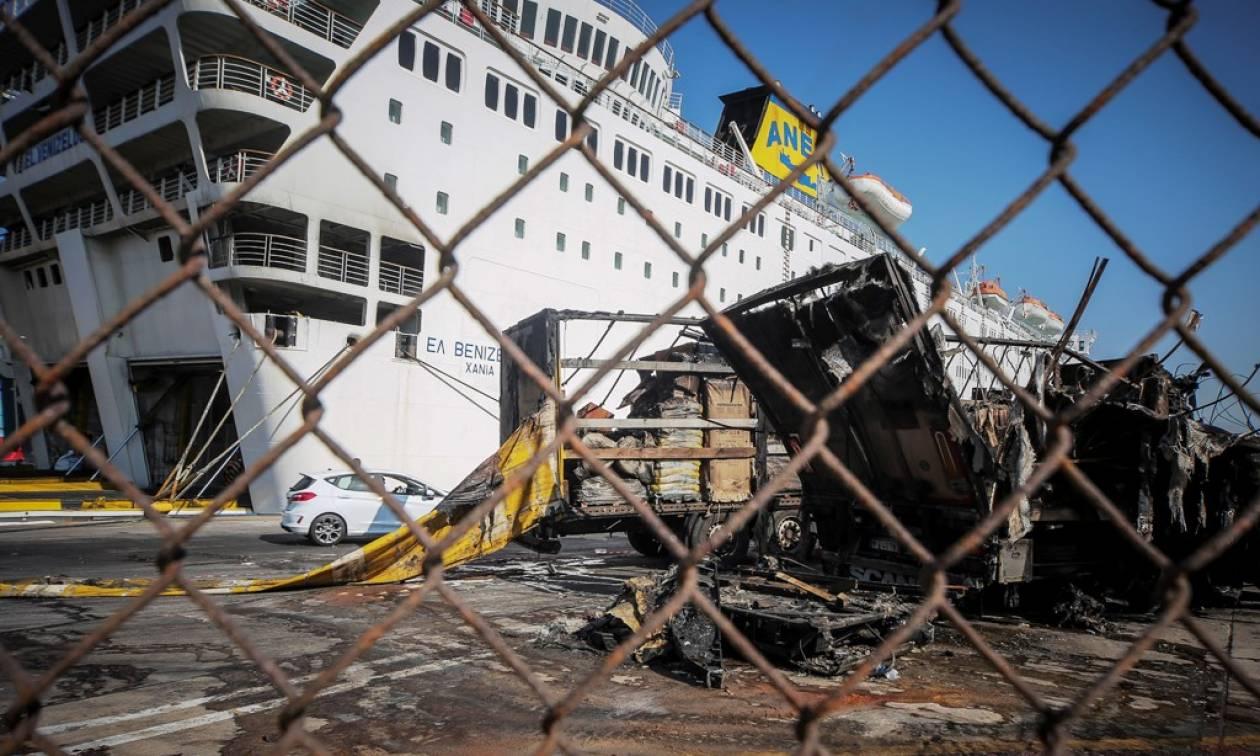Σε ναυπηγείο του Περάματος για επισκευές το «Ελευθέριος Βενιζέλος» (pics)