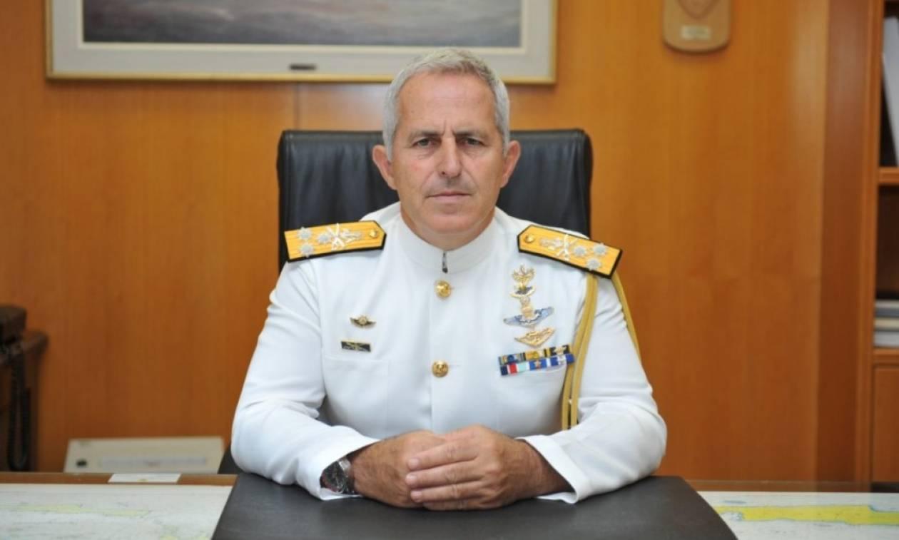 ΚΥΣΕΑ: Παραμένει Αρχηγός ΓΕΕΘΑ ο ναύαρχος Ευάγγελος Αποστολάκης