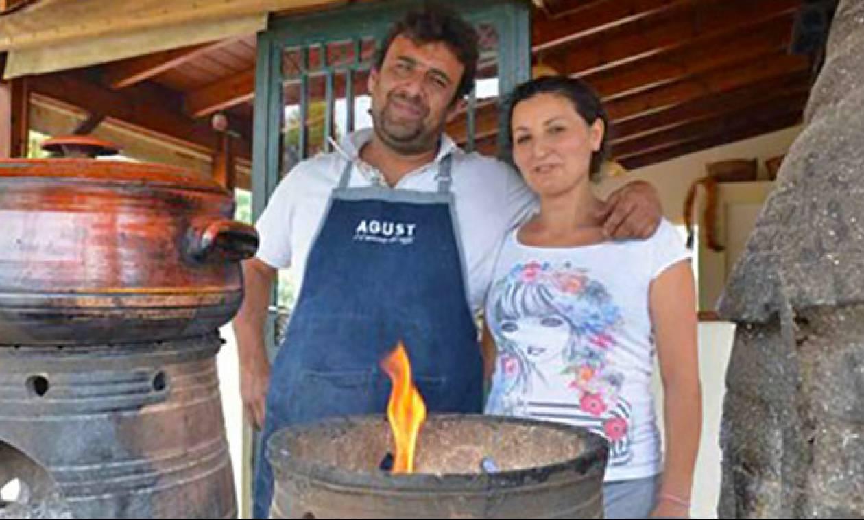 Κρητική ταβέρνα μαγειρεύει ΧΩΡΙΣ ρεύμα τους πιο εκλεκτούς μεζέδες του νησιού!