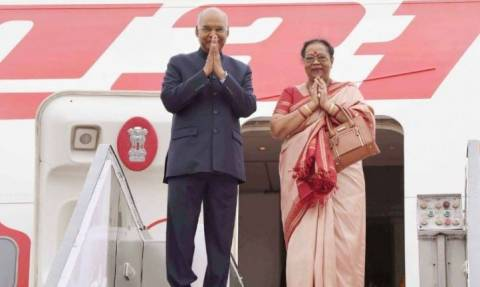 Президент Индии Рам Натх Ковинд провел официальный визит на Кипр