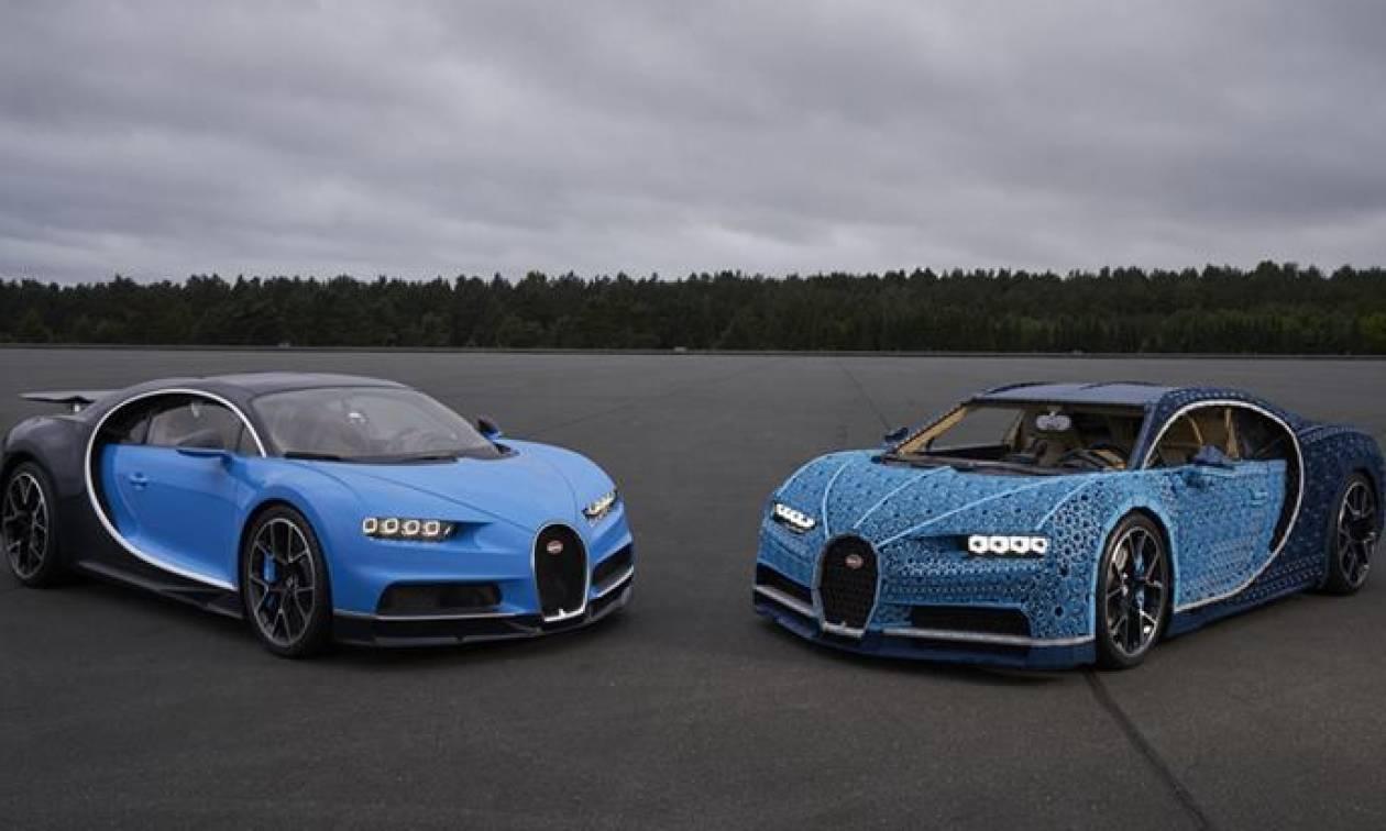 Αυτή η (κανονική σε μέγεθος) Bugatti Chiron είναι από... LEGO!