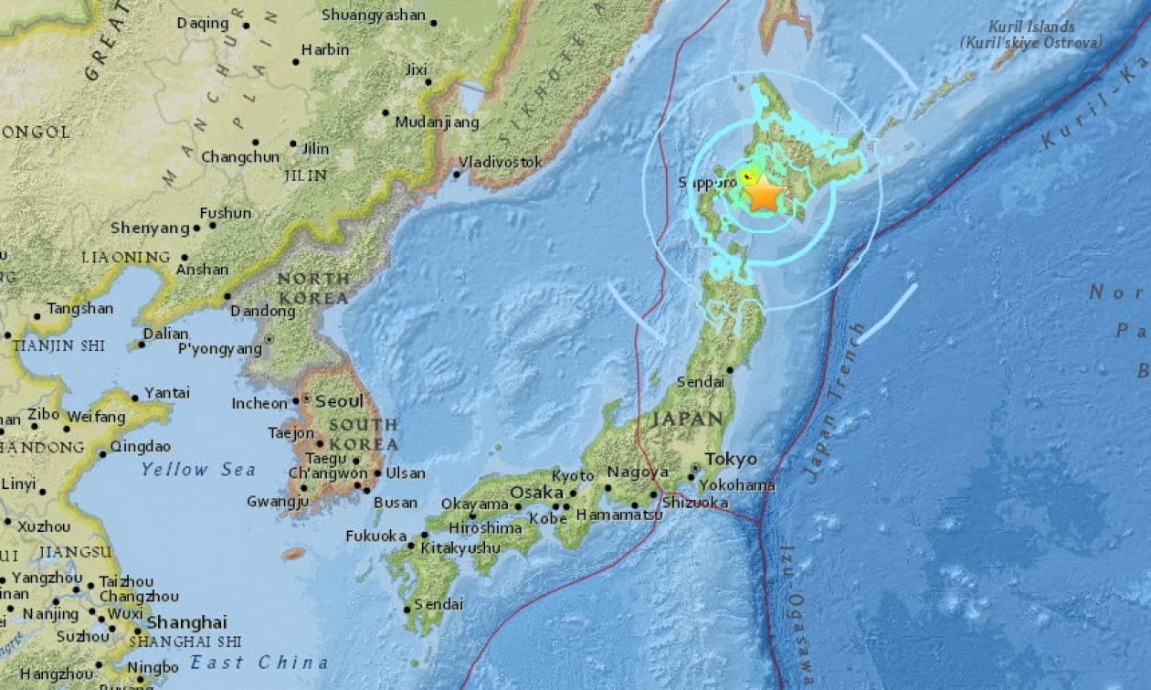 Σεισμός 6,6 Ρίχτερ στην Ιαπωνία: Κτήρια κατέρρευσαν κοντά στο Σαπόρο