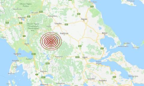 Σεισμός κοντά στην Καρδίτσα (pics)