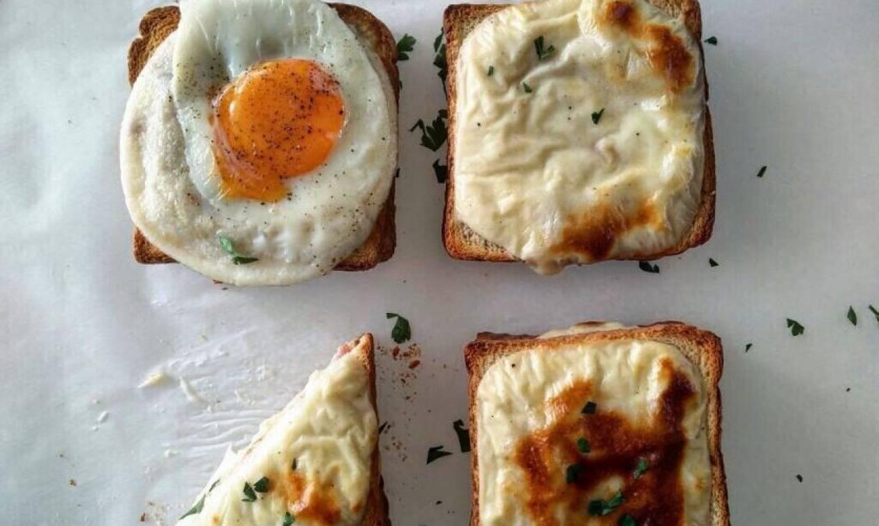 Η συνταγή της ημέρας: Croque Monsieur & Croque Madame