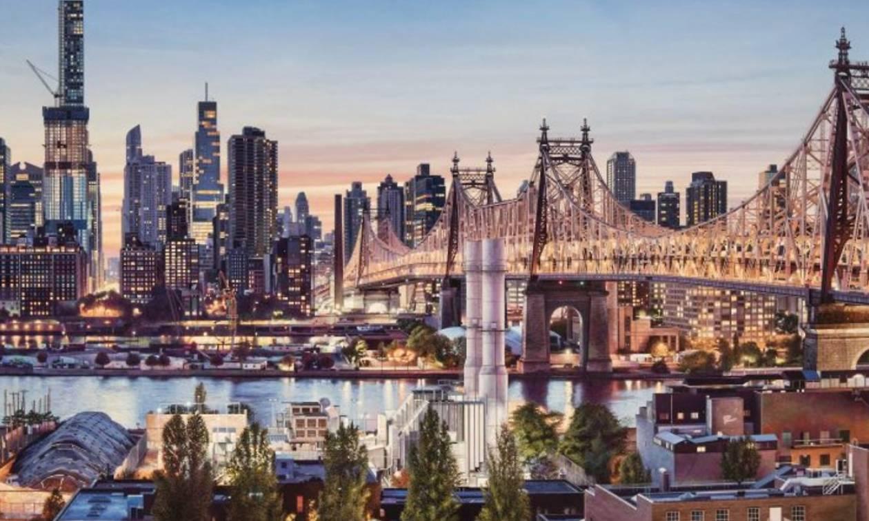 Πίνακες με θέμα την Νέα Υόρκη είναι τόσο τέλειοι που μοιάζουν με φωτογραφία (vid)