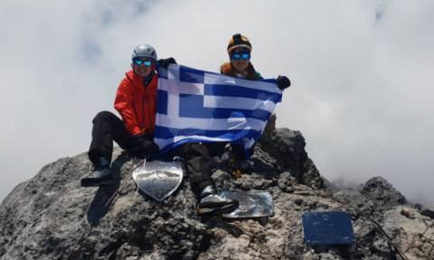 Δύο Ελληνίδες κατέκτησαν την υψηλότερη κορυφή της Ωκεανίας