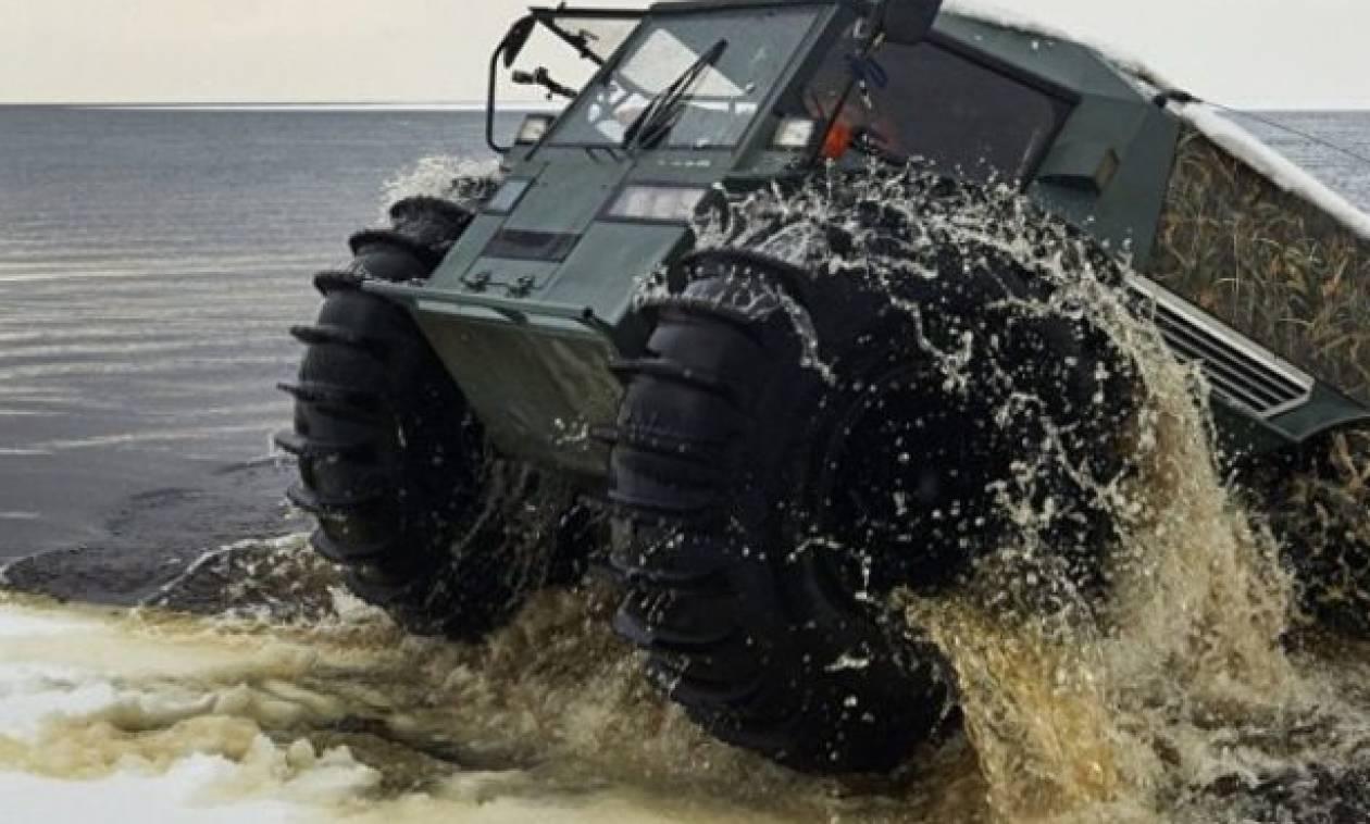 Δείτε το όχημα - «τέρας» που έφτιαξαν οι Ρώσοι και δεν χαμπαριάζει τίποτα