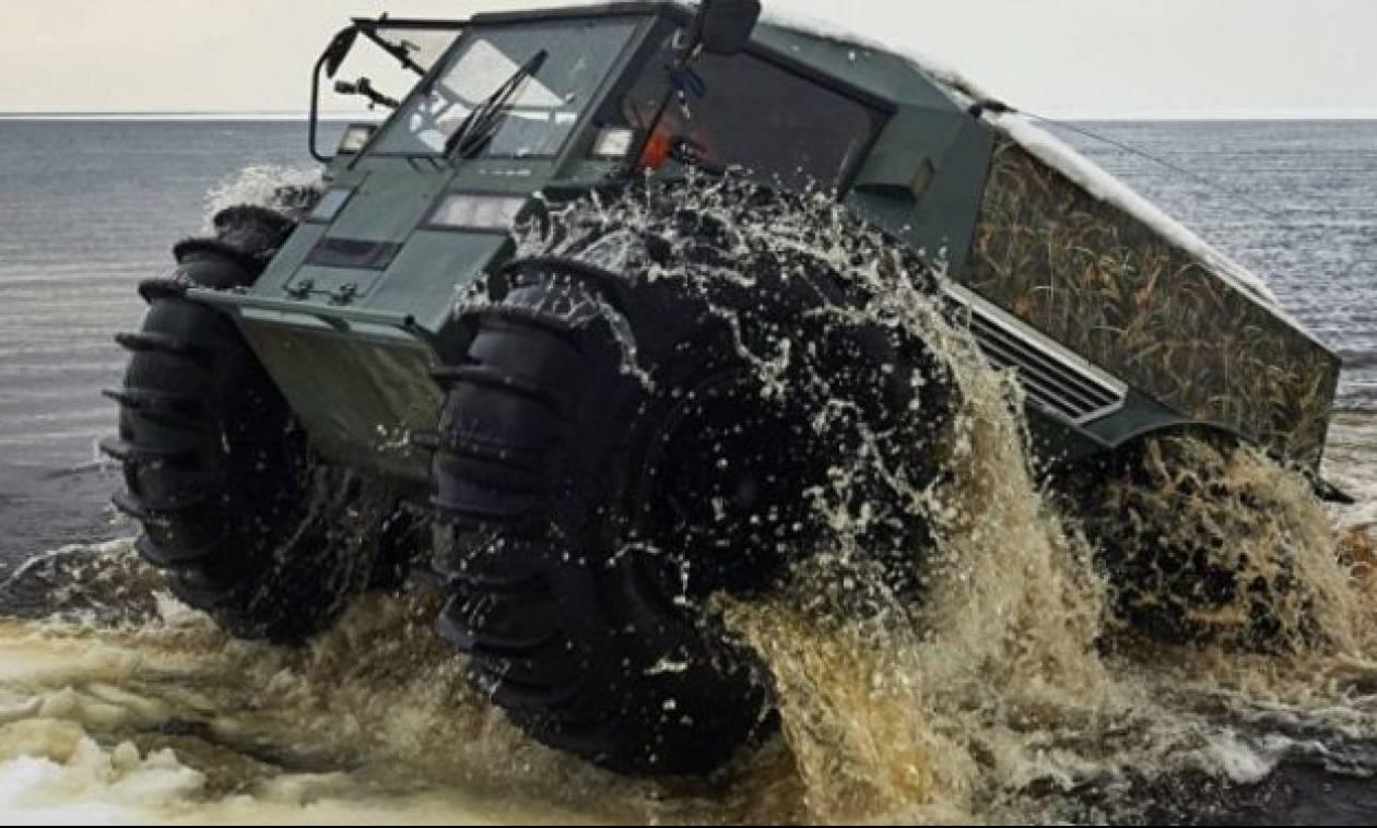 Δείτε το όχημα-τέρας που έφτιαξαν οι Ρώσοι και δεν χαμπαριάζει ΤΙ-ΠΟ-ΤΑ! (vid)