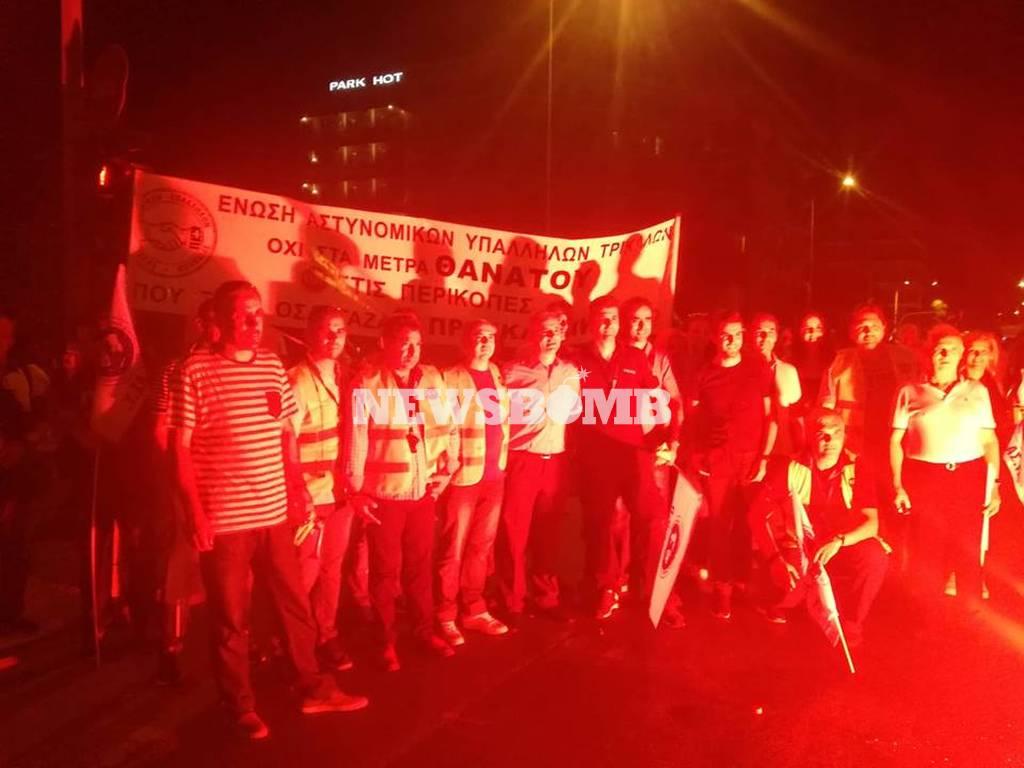 ΔΕΘ 2018: Συγκέντρωση διαμαρτυρίας των ένστολων στον Λευκό Πύργο – Τι ζητούν από τον Τσίπρα
