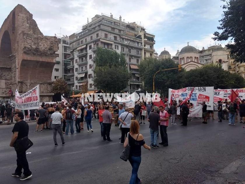 Σοβαρά επεισόδια στα συλλαλητήρια της Θεσσαλονίκης