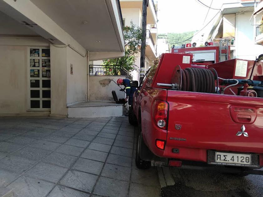 Συναγερμός στα Ιωάννινα - Έκρηξη σε μονοκατοικία με έναν τραυματία