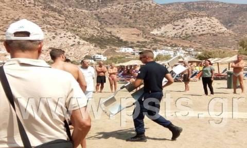 Σίφνος: Ηλικιωμένος άφησε την τελευταία του πνοή στην παραλία