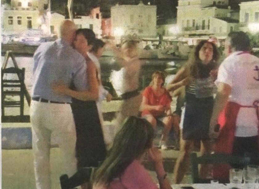 Ο... τρυφερός χορός του Γιώργου Παπανδρέου με τη νέα σύντροφο του! (pics)