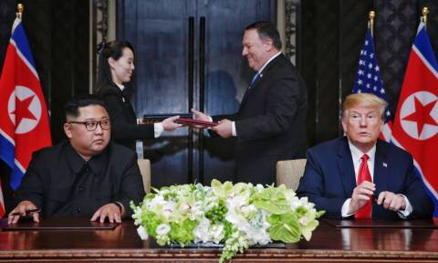 Ο Κιμ Γιονγκ Ουν ζητά από τον Τραμπ νέα Σύνοδο Κορυφής