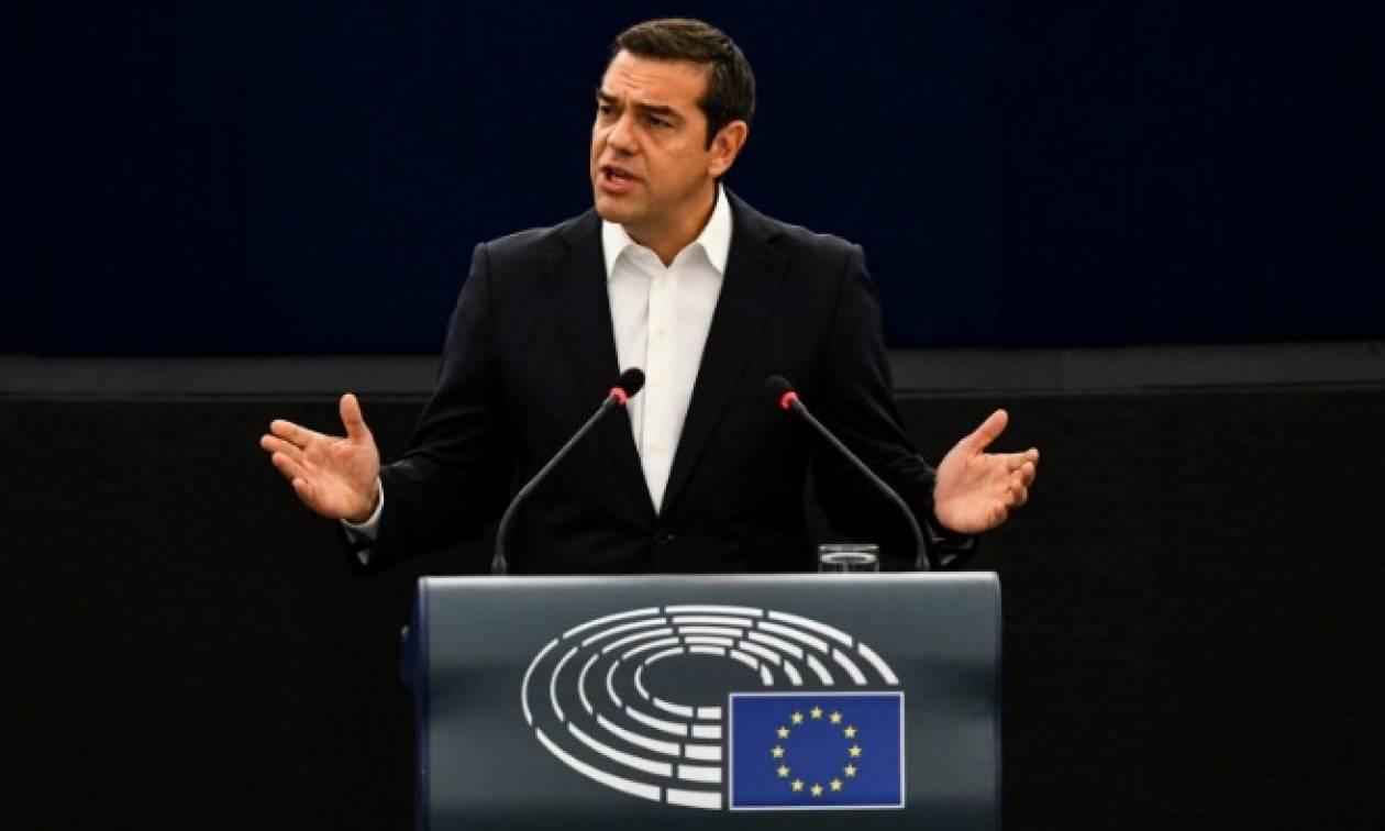 Τσίπρας: Η Ελλάδα τα κατάφερε – Στεκόμαστε ξανά στα πόδια μας
