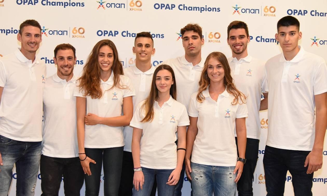 Ο ΟΠΑΠ στο πλευρό της νέας γενιάς αθλητών με το πρόγραμμα «ΟΠΑΠ Champions»
