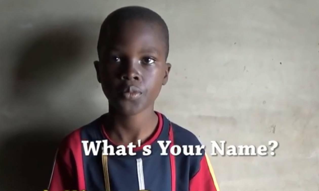 Αυτό το αγόρι έχει το πιο δύσκολο όνομα στον κόσμο - ΑΠΟΚΛΕΙΕΤΑΙ να το προφέρεις σωστά! (vid)