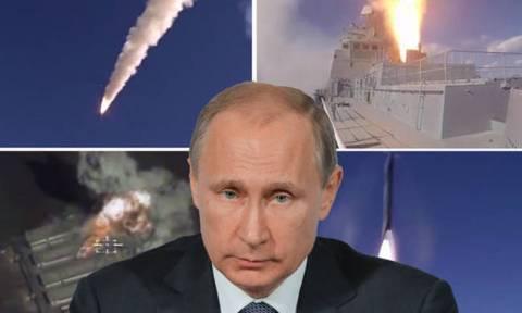 Επίδειξη δύναμης: Ο Πούτιν έτοιμος για όλα πραγματοποιεί εντυπωσιακή «πρόβα» πολέμου (Vids)