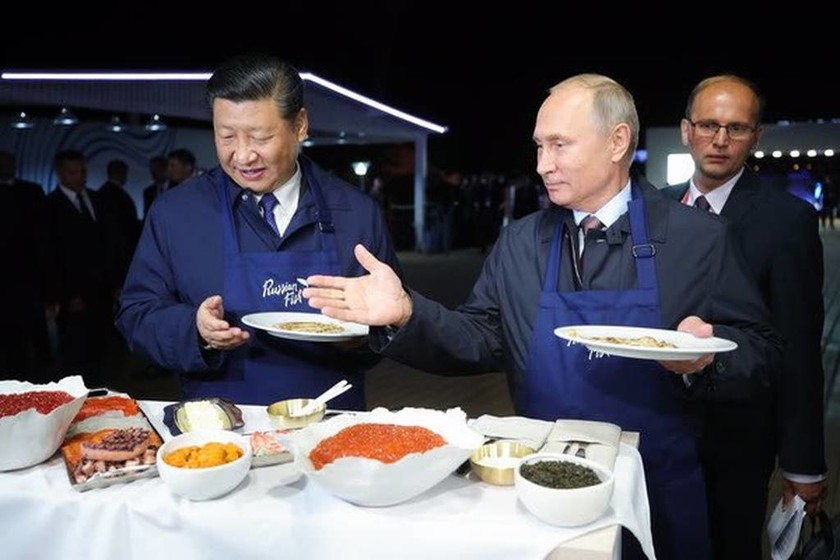 Πούτιν και Σι σε ρόλο… Master Chef (Vid)